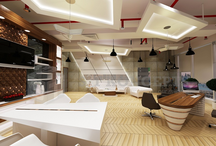 Emirates National Investment Office – 3D View