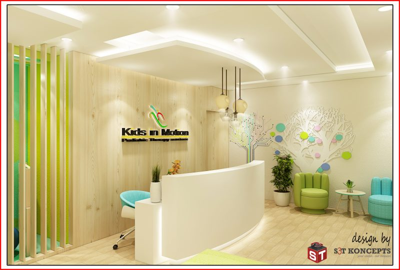 Kids in Motion – 3D View