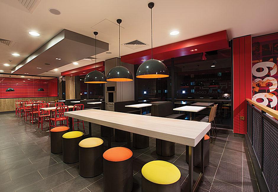 Fast Food Restaurant Interior Design S3tkoncepts